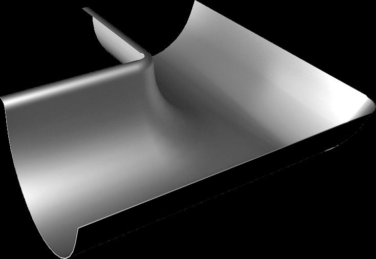 Žľabový vnútorný roh